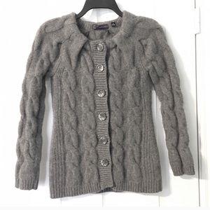 Saks Fifth Avenue Cashmere Sweater Cardigan